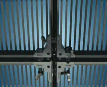 Жесткая светодиодная видео сетка